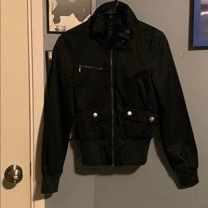 Black Zip Up Jacket from H&M
